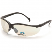 Pyramex SB1880R Venture II Readers Safety Glasses - Black Frame - Indoor/Outdoor Bifocal Lens