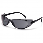 Pyramex GT2000 Safety Glasses - Black Temples - Gray Lens