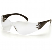 Pyramex Intruder Safety Glasses - Black Temples - Clear Lens