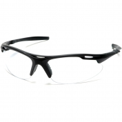 Pyramex Avante Safety Glasses - Black Frame - Clear Lens