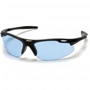 Pyramex Avante Safety Glasses - Black Frame - Blue Lens