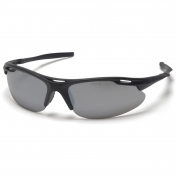 Pyramex Avante Safety Glasses - Black Frame - Silver Mirror Lens