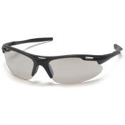 Pyramex Avante Safety Glasses - Black Frame - Indoor/Outdoor Mirror Lens