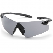 Pyramex Rotator Safety Glasses - Black Temples - Gray Lens