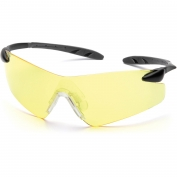 Pyramex Rotator Safety Glasses - Black Temples - Amber Lens