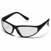 Pyramex Zone Safety Glasses - Black Frame - Clear Lens
