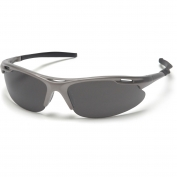 Pyramex Avante Safety Glasses - Gun Metal Frame - Gray Lens