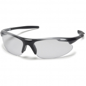 Pyramex Avante Safety Glasses - Silver/Black Frame - Clear Lens