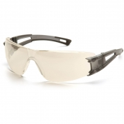 Pyramex Endeavor Safety Glasses - Gray Temples - Indoor/Outdoor Mirror Lens