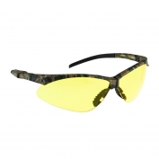 Radians AP4-41 Rad-Apocalypse Safety Glasses - Camo Frame - Amber Anti-Fog Lens