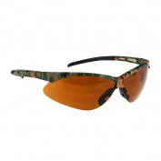 Radians AP4-B1 Rad-Apocalypse Safety Glasses - Camo Frame - Bronze Anti-Fog Lens