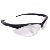 Radians APJ1-10 Rad-Apocalypse Junior Safety Glasses - Small Black Frame - Clear Lens