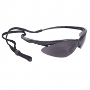 Radians APJ1-20 Rad-Apocalypse Junior Safety Glasses - Small Black Frame - Smoke Lens