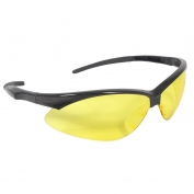 Radians APJ1-40 Rad-Apocalypse Junior Safety Glasses - Small Black Frame - Amber Lens