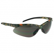 Radians APJ4-21 Rad-Apocalypse Junior Safety Glasses - Small Camo Frame - Smoke Anti-Fog Lens