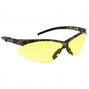 Radians APJ4-41 Rad-Apocalypse Junior Safety Glasses - Small Camo Frame - Amber Anti-Fog Lens