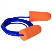 Radians FP71 Resistor Corded Disposable Foam Ear Plugs - NRR 32dB