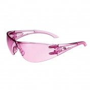 Radians Optima Safety Glasses - Pink Temples - Pink Lens