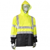 Radians RJ07-3ZGV Fortress 35 High Visibility Rain Jacket