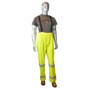 Radians RW25P-EZGV High Visibility Rain Pants - Yellow/Lime