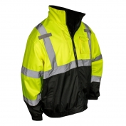 Radians SJ210B-3ZGS Class 3 Three-in-One Bomber Jacket - Yellow/Black
