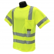 Radians ST11-3PGS Type R Class 3 Mesh Safety Shirt - Yellow/Lime