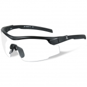Remington RE101 Shooting Glasses - Black Frame - Clear Lens