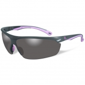 Remington RE600 Shooting/Safety Glasses - Gray/Pink Frame - Smoke Lens