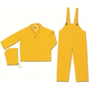 River City 2003 Classic Series 3 Piece Rain Suit - .35mm PVC/Polyester - Yellow