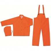 River City 2013 Classic Series 3-Piece Rain Suit - .35mm PVC/Polyester - Orange
