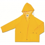 River City 220JH Classic Series Rain Jacket - .35mm PVC/Polyester - Yellow