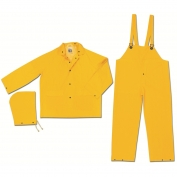 River City 2303 Classic Series Industry Grade 3 Piece Rain Suit - Yellow