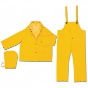 River City 2403 Classic Plus 3-Piece Rain Suit - Yellow