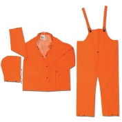 River City 2413 Classic Plus 3-Piece Rain Suit - Orange
