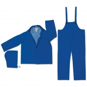 River City 2433 Classic Plus 3-Piece Rain Suit - Blue