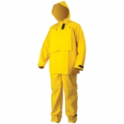 River City 2603 Hydroblast Rain Suit - 0.35mm PVC/Polyester - Yellow