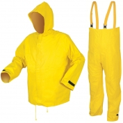 River City 3902 Hydroblast Limited Flammability Rain Suit - .28mm PVC/Nylon Scrim/PVC - Yellow
