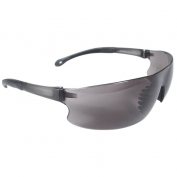 Radians Rad-Sequel Safety Glasses - Smoke Temple Tips - Smoke Lens