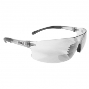 Radians Rad-Sequel RSX Safety Glasses - Smoke Temple Tips - Clear Bifocal Lens