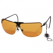 Radians RSG-3 Shooting Glasses - Metal Frame  - Interchangeable Lens