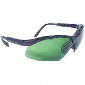 Radians Revelation Safety Glasses - Smoke Frame - Green IRUV 3.0 Lens