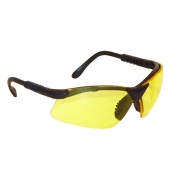 Radians Revelation Safety Glasses - Smoke Frame - Amber Lens