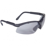 Radians Revelation Safety Glasses - Smoke Frame - Light Smoke Lens