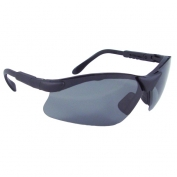 Radians Revelation Safety Glasses - Smoke Frame - Smoke Polarized Lens