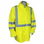 Radians RW10-3S1Y Lightweight Rain Jacket - Yellow/Lime