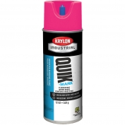 Krylon A03405004 Quik-Mark Water Based Inverted Marking Paint - Fluorescent Pink - 16 oz Can (Net Weight 12 oz)