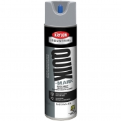 Krylon A03640007 Quik-Mark Solvent Based Inverted Marking Paint - Silver - 20 oz Can (Net Weight 17 oz)