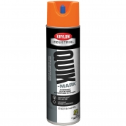 Krylon A03702007 Quik-Mark Solvent Based Inverted Marking Paint - Fluorescent Orange - 20 oz Can (Net Weight 17 oz)