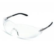 Crews S2110AF Blackjack Safety Glasses - Metal Temples - Clear Anti-Fog Lens