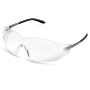 Crews Blackjack Safety Glasses - Metal Temples - Clear Lens
